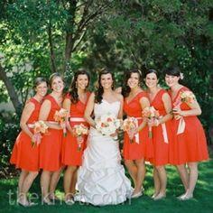 06102012 – Coral Bridesmaid Dresses