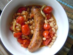 Cassoulet-Style Italian Sausages and White Beans » Nutmeg Notebook