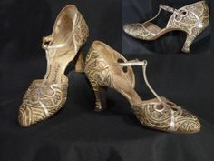 1930s Evening Shoes