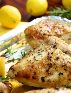 Looking for a meal to impress your family? Try this roasted chicken breast recipe with rosemary and garlic! Line your sheet pan with our Aluminum Foil to make cleanup easy.
