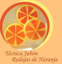 Hacer jabón con forma de Naranja. Tutorial paso a paso para aprender a hacer jabón con forma de naranja.
