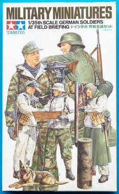 Tamiya german soldiers at field briefing