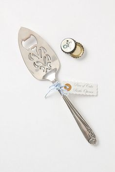 Multipurpose for cake and beer! WHaT MoRe cOuLD yOu NeeD?!   Piece Of Cake Bottle Opener #anthropologie