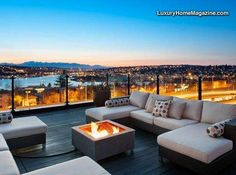 LHM Seattle - Modern and luxurious condo style living with the added square footage and privacy of a single family home. Dramatic, protected views rivaling the best in Seattle with a roof-top deck that feels like your own private W Hotel. The generous owners suite on the upper level features an open den, walk-in closet, and a stunning  …