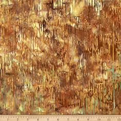 Bali Batiks Acres To Sew Wood Plank Palomind from @fabricdotcom  Designed by McKenna Ryan for Hoffman International Fabrics,this Indonesian batik is perfect for quilting, craft projects, apparel and home décor accents. Colors include teal, shades of yellow, and shades of brown.