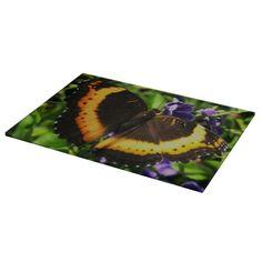 Milbert's Tortoiseshell butterfly chopping board