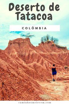 6 Ótimos Motivos Para Conhecer o Deserto de Tatacoa, um lugar lindo, super fotogênico e cheio de magia na Colômbia. Veja nossas dicas de onde se hospedar, como chegar, quais passeios fazer, onde comer e saiba quanto gastamos em 3 dias. Rafting, Latin America, Travel Tips, Places To Go, Trips, Movie Posters, Adventure Trips, Travel In Europe, Travel Inspiration