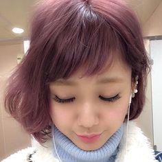 「初めてのヘアカラーにもおすすめ!ピンクブラウンで旬な愛され顔に♡」に含まれるinstagramの画像