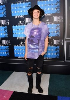Nash Grier at the 2015 MTV Video Music Awards