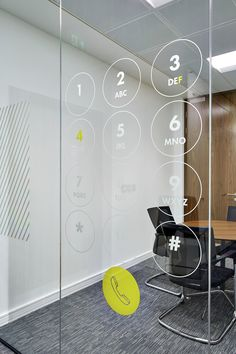 Ideas for medical design interior glass walls Office Wall Design, Corporate Office Design, Modern Office Design, Office Interior Design, Office Interiors, Corporate Offices, Office Branding, Office Decor, Glass Design