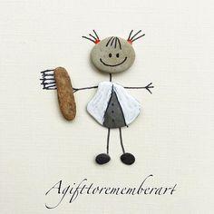 """The dentist"" @__royalwish___ this made me think of you Arezoo  #agifttorememberart #pebbleart #artoftheday #nature #australia #instaart #instagood #instaphoto #photooftheday #makersgonnamake #etsy #etsyseller #dentist #dental #neshatghaffari #stones #handmadecards #art #gift #cute #giftideas #adelaide #beach"
