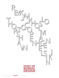 Spirit of Nordic Design by FARVESTUFF