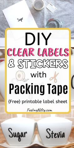 15 Best Clear Stickers images in 2018 | Adhesive, Clear