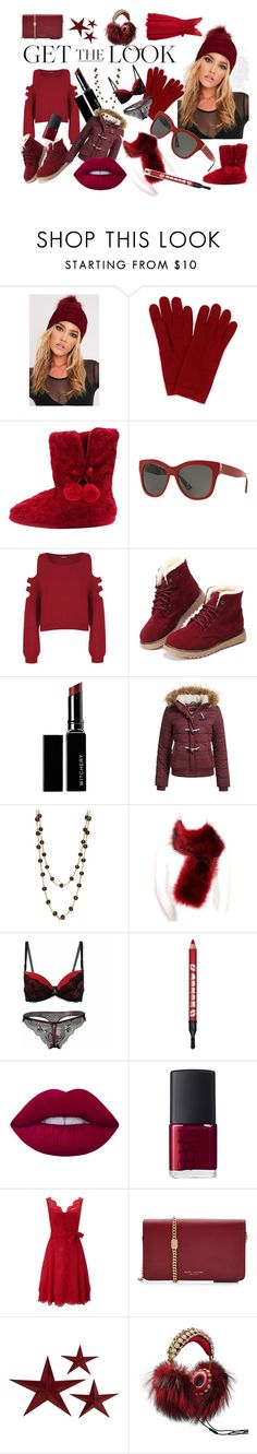 """""""Winter style"""" by oldcastlechrista on Polyvore featuring L.K.Bennett, M&Co, Dolce&Gabbana, WearAll, Witchery, Superdry, Plumeria Exclusive London, Lime Crime, NARS Cosmetics and Phase Eight"""