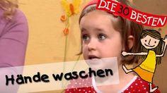 """""""Hände waschen"""" ist ein sehr beliebtes Bewegungslied, welches Kindern viel mehr Spaß macht, als man glauben würde. Dieses nette Kinderlied wurde mit einem pu..."""