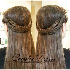 Brided hair Hair, Beauty, Fashion, Moda, Fashion Styles, Beauty Illustration, Fashion Illustrations, Strengthen Hair