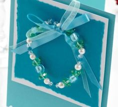 Wintry Bracelet Card
