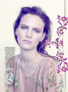 Harper's Bazaar UK V Issue May 2013 | Sophie Hirschfelder | Elena Rendina