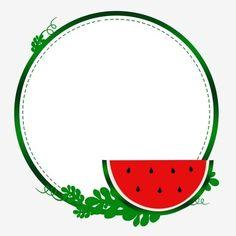 Watermelon Birthday Parties, Fruit Birthday, Baby Boy 1st Birthday Party, Kids Birthday Party Invitations, Watermelon Wallpaper, Yalda Night, Framed Wallpaper, Instagram Frame, Fruit Art