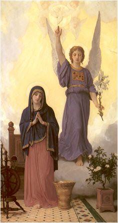 Anunciation, 1888 – William-Adolphe Bouguereau