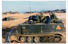 """acav """"A"""" troop Cavalry """"Black Knights"""" Infantry Division """"Old Reliables"""" Army Vehicles, Armored Vehicles, Armoured Personnel Carrier, Vietnam War Photos, Armored Fighting Vehicle, Fighter Pilot, Military Weapons, Vietnam Veterans, Military History"""
