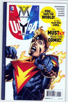 Multiversity Ultra Comics #1 (2015) Doug Mahnke Cover & Pencils, Grant Morrison Story, 1st Appearance of Ultra-Man