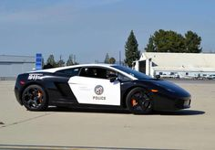 The LAPD adds a swanky Lamborghini Gallardo to its patrol car fleet