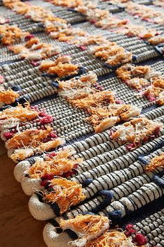 Woven Thatch Rug.  All Roads x Anthropologie.