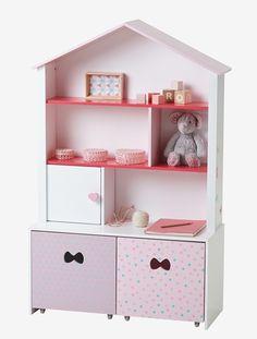 Etagère-marchande Love pink - Blanc/multicolore - 1