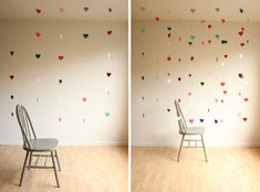 HOW TO MAKE A FLOATING HEART BACKDROP — Hank and Hunt Party Crafts