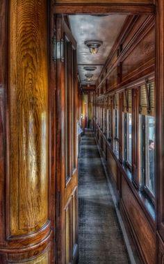✿⊱⊶ල⊷⊰✿  The Orient Express around the time Poirot might have ridden the luxury train.
