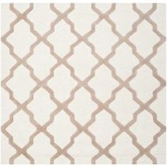 Safavieh Cambridge Ivory/Beige 8 ft. x 8 ft. Square Area Rug-CAM121P-8SQ at The Home Depot