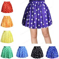 Find More Tennis Skirts Information about New Women Candy Pleated Mini Tennis…