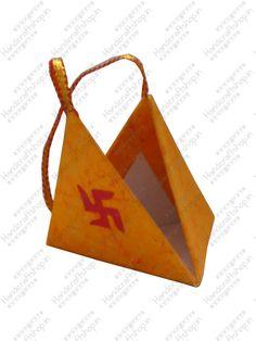 Pyramid box #ecofriendly paper #crafts shop at #handicraftshopindia