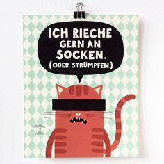 Erwischt!  @vonzubinski #dawanda #vonzubinski #illustration #instaart #graphicdesign #artwork #graphicart #illustrator #catsofinstagram #catstagram #catoftheday #kittenofinstgram #katzenleben #katzenaufinstagram #katzenmama