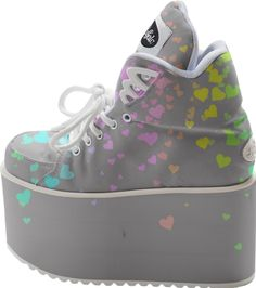 0000000P/Gray Love Buffalo Platform