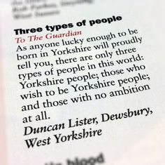57 Reasons Living In Yorkshire Ruins You For Life Ripon Yorkshire, Huddersfield Yorkshire, East Yorkshire, Yorkshire England, French Words With Meaning, Yorkshire Sayings, Commonplace Book, Barnsley, Cumbria