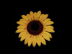 3D Origami Sunflower tutorial: https://youtu.be/DmrZ6SyTIzM Model created by Campean Petru Razvan
