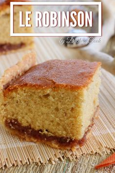 The robinson is a small Creole pastry in which there is a shortcrust pastry, a quarter cake, and two jams, the main one being coconut. Island Cake, Island Food, Mauritian Food, Look And Cook, Cake Recipes, Dessert Recipes, Haitian Food Recipes, Shortcrust Pastry, Caribbean Recipes