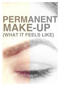 Morgan from the818.com gave some GREAT insight and advice about permanent make-up on her blog recently.  Give it a read and let me know what you think about permanent make-up after you've heard her thoughts!  Really interesting.