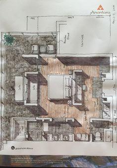 Interior Presentation, Presentation Design, Floor Plan Sketch, Interior Design Guide, Workplace Design, Hotel Interiors, Room Planning, Architecture Plan, Bauhaus