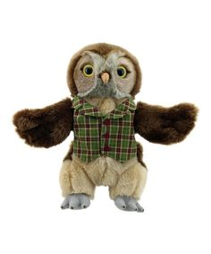 This Dressed Owl Puppet is perfect! #zulilyfinds