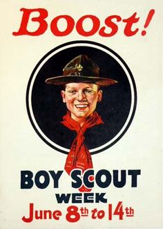 old boy scout poster