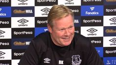 nice Ronald Koeman Full Pre-Match Press Conference - Manchester United v Everton - Premier League