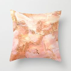 Bronze It Throw Pillow by Rosie Brown - $20.00 #pillow #throwpillow #homedecor #art #society6 #bronze