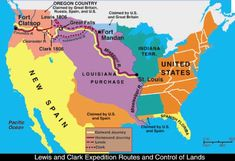 Route of Lewis Clark Journey   To isolate the powerful Sioux nation; to open the river from St. Louis ...