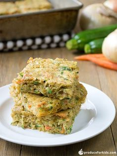 Kids will love these bars for a yummy snack or savory dessert. They are loaded with healthy veggies like onions, carrots and zucchini. Add dried fruits or pistachios to add a sweet flavor. Savory Carrot & Zucchini Squares  By:Produce for Kids Nutrition Information Serves:12 Calories:168 Fat:11.5g Carbohydrates:10g Sodium:352mg Fiber:.5g Protein:6g Recipe type:Snack Prep time: [...]