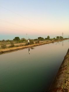 Water channel at Calueque Key Projects, Civil Engineering, Channel, Africa, Journey, Explore, World, Water, Life