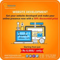 TechInvento IT Services-Top Web, Software & Digital Marketing Company Ios Application Development, Software Development, Create Your Website, Programming, Ecommerce, Online Business, The Help, Digital Marketing, Web Design