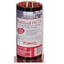 8' X 60 2 OZ YORKSHIELD TS TERMITE SHIELD COPPER FLASHING -- Click on the image for additional details.